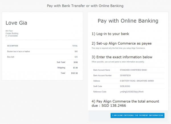 Woocommerce – Accept Bitcoin and Payin Local Gateway by Align Commerce