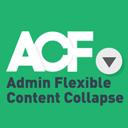 ACF Admin Flexible Content Collapse