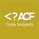 Advanced Custom Fields Code Snippets