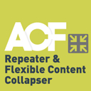 ACF Repeater & Flexible Content Collapser