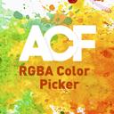 ACF RGBA Color Picker
