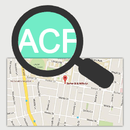 Google Maps Search Tool For ACF