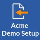Acme Demo Setup