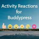 Activity Reactions For Buddypress