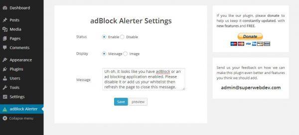 adBlock Alerter