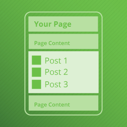 Add Posts to Pages