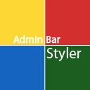 Admin Bar Styler