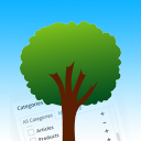 Admin Category Tree
