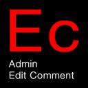 Admin Edit Comment
