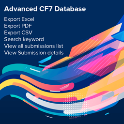 Contact Form 7 Database – CFDB7