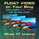 Aklamator – Float Video on your blog