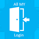 All my login page.