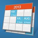 Archives Calendar Widget