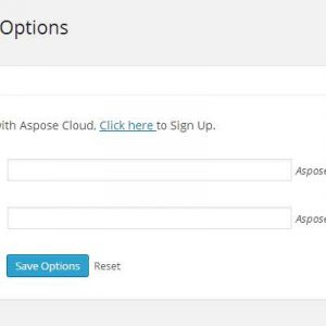 Aspose PDF Exporter