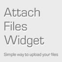 Attach Files Widget