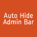 Auto Hide Admin Bar