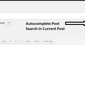 Jump to Post/Page