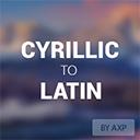 AXP Cyrillic to Latin