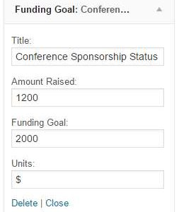 Basic Funding Tracker