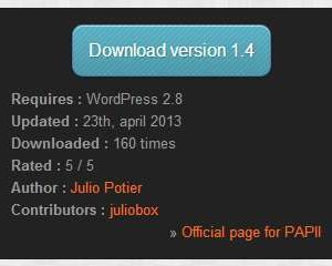 PAPII – Plugin API Infos