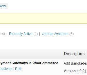 BDT & Payment Gateways in WooCommerce