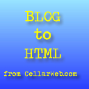 Blog To HTML