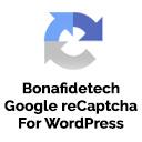 Bonafide Tech Google Recaptcha for WordPress