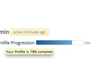 BuddyPress Profile Progression