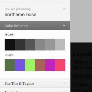 Color Scheme every Theme