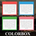 Colorbox Panels