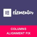 Columns Alignment Fix for Elementor