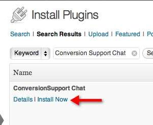 Conversion Support Live Chat