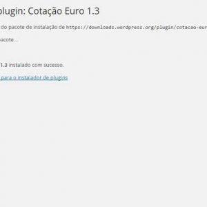 Cotação Euro