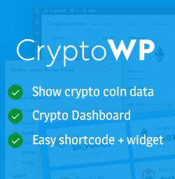 Crypto Price Widgets – CryptoWP