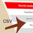 CSV to html