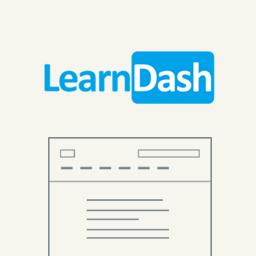 Custom Template for LearnDash