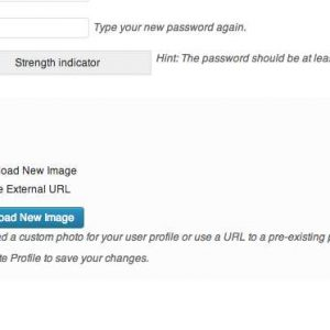 Custom User Profile Photo