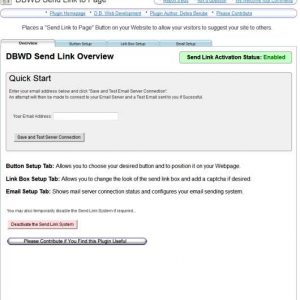DBWD Send Link to Page