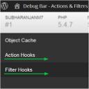 Debug Bar Actions and Filters Addon