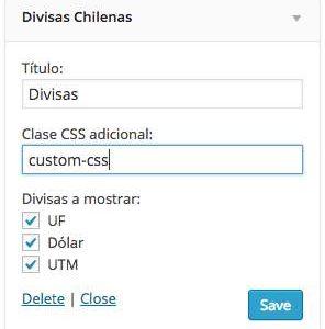 Divisas Chilenas