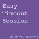 Easy Timeout Session