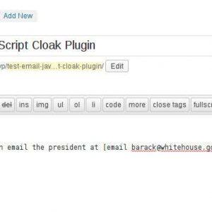 Email JavaScript Cloak