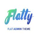Flatty – Flat Admin Theme
