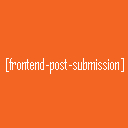 Frontend Post Submission