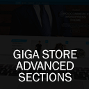 Giga Store Advanced Sections