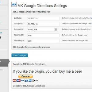 MK Google Directions