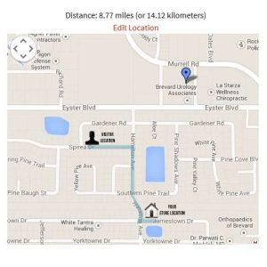 Google Maps and Distance Finder plugin
