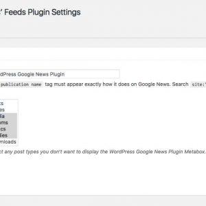 Google News Editors Picks Feed Generator