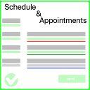 Schedules and Appointments