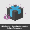 Hide WooCommerce Product Shipping Info